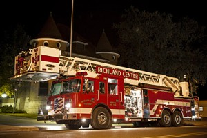 Richland Center Fire